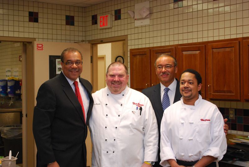 Mayor, Chefs and Steve