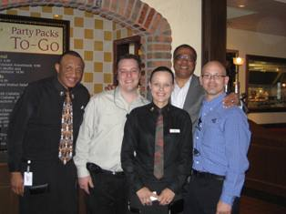 April 22 Steve with Mimi's Charlotte team